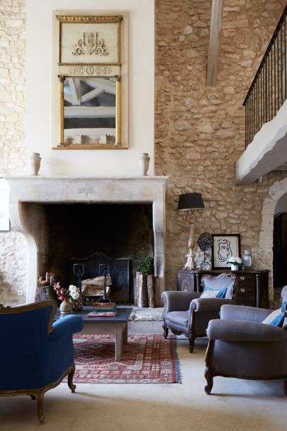 La Bastide: Living Room