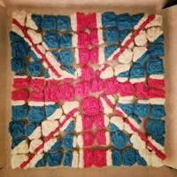 Union Jack Mini Cakes