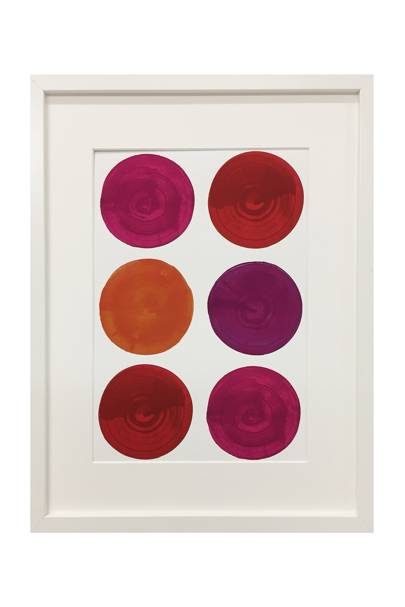 October 15: Erskine Rose Ruby Red Print A2, £185