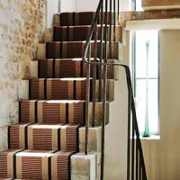 Stripped-Back Stairs with Runner