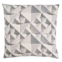 Geo Grey Print Cushion