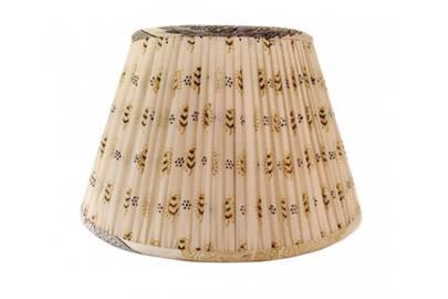 Vintage Sari Fabric Shade