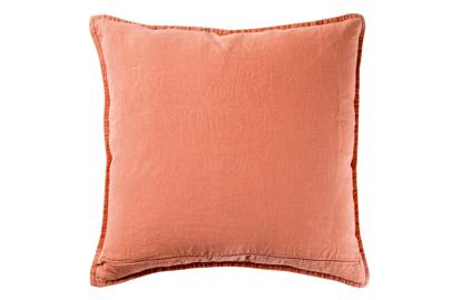 'Twill Cushion Cover', (copper), linen, 45cm square, £50, from The Conran Shop