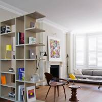 Geometric bookcases