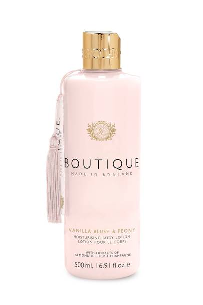 August 12: Boutique Vanilla Blush & Peony Body Lotion, £6