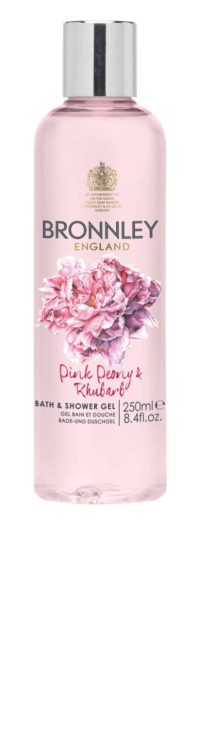 2. Pink Peony and Rhubarb Bath and Shower Gel, 250ml, £12.00