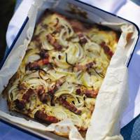 Rachel Khoo's Tarte Flambée - Best Gluten Free Recipes