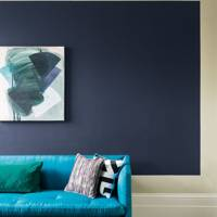 Navy Blue Frame