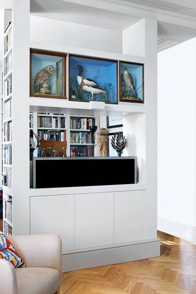 Wall TV Cabinet Storage