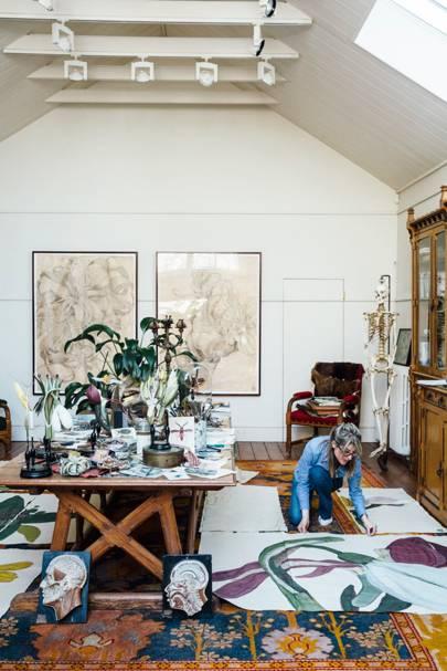 Artist in Studio - Artist Flat and Studio