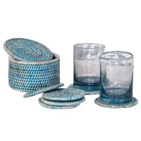 May 15: Kalinko Latha Coasters in Blue, £22