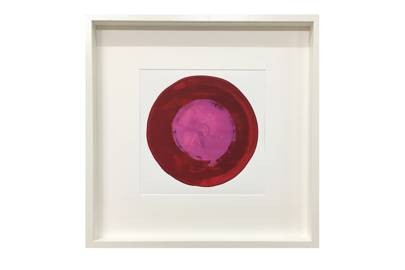 October 5: Erskine Rose Emblazon Print 50x50cm, £75