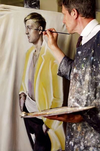 Painting Cassius Clay