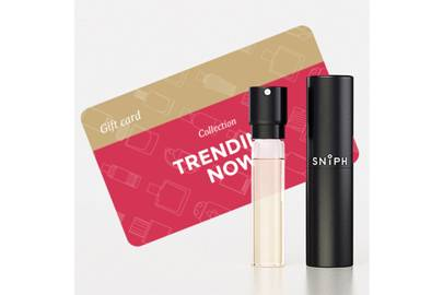 February 17: Sniph Box with Trending Now Fragrance and Gift Card, £36.00