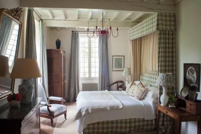 Pastel Gingham Bedroom