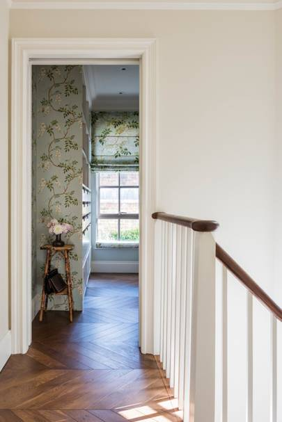 Staircase Patterned Wallpaper