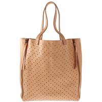 Punch Out Tan Coloured Handbag