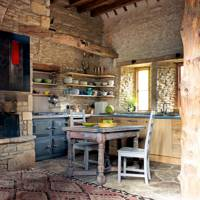 Kitchen - 18th Century Rustic Barn