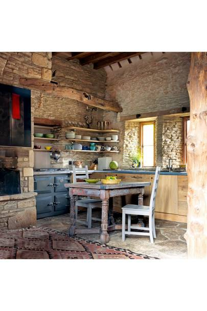 Rustic Barn Kitchen