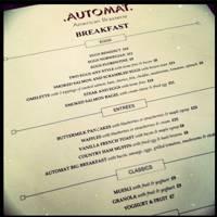 Vanilla French Toast at Automat