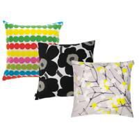 Rasymatto, Unikko and Lumimarja Cushions