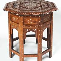North African Ebony Table