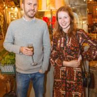 Hugo Rawlins and Leanne Walstow