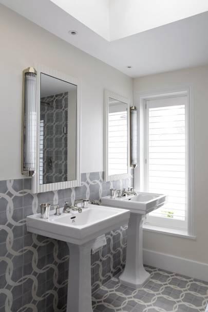 Grey Patterned Tiles