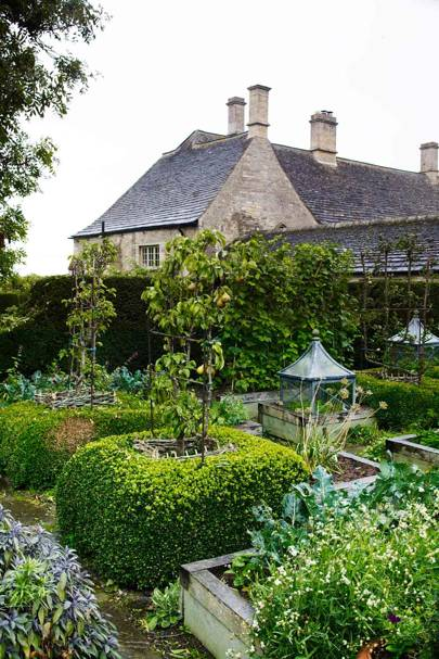 Hedged Garden - Bunny Guinness' Cambridgeshire Garden