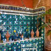 Tile Fountain