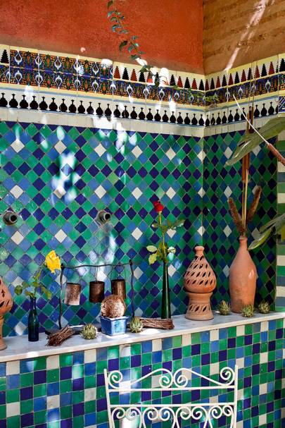Tile Alcove - Moroccan Tiling | Outdoor Spaces