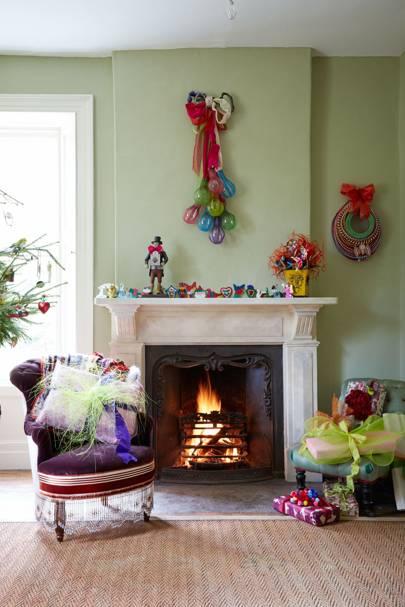Annabel's Christmas Living Room