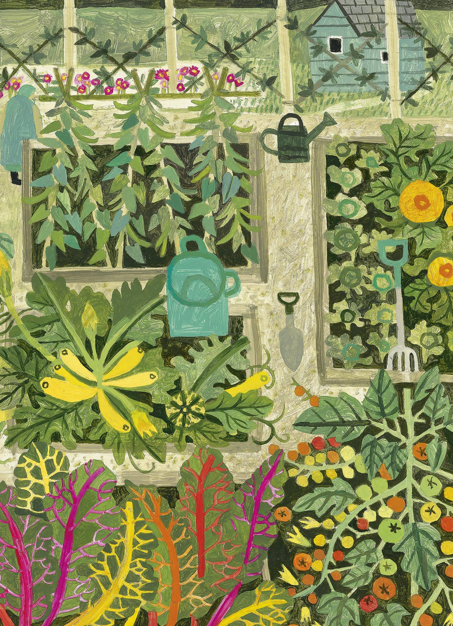 Clare Foster's diary of a new garden: encouraging plant growth