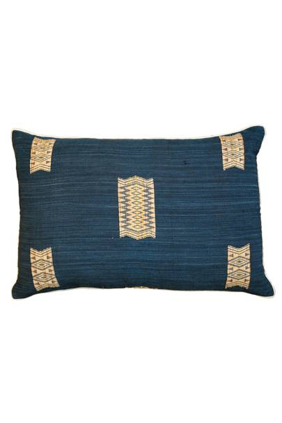 May 18: Kalinko Naga Cushion Cover in Indigo, £55