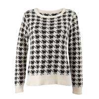 Monochrome Dogtooth Jumper