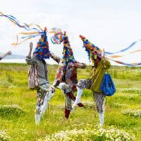 Fabric: Pagan Dance