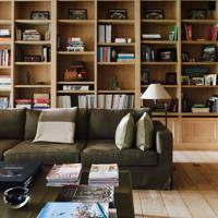 Library - Belgian Family Home & Alps Chalet