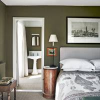 Green Country Bedroom