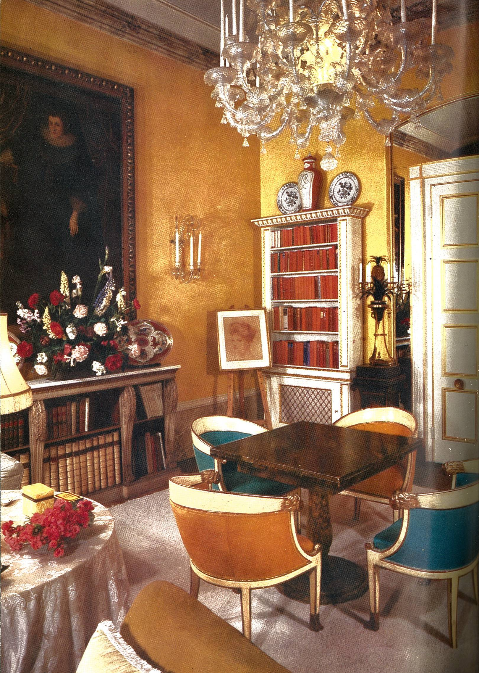 From the archive: Nancy Lancaster's apartment in Mayfair (1960)