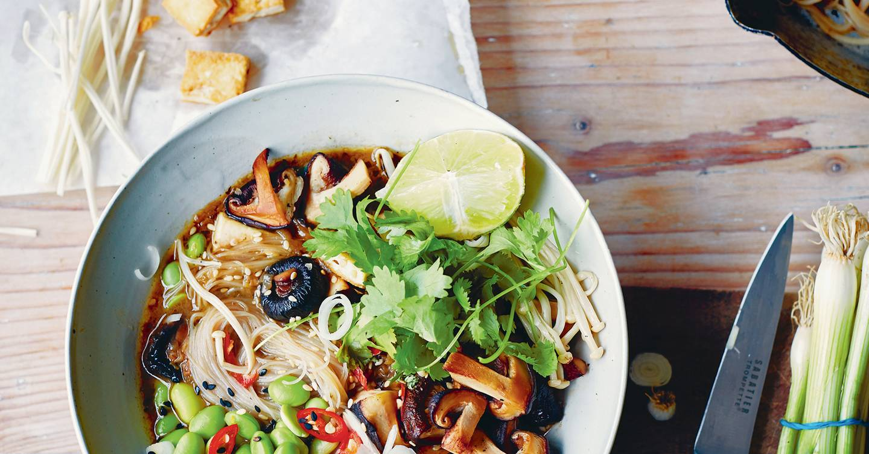 Restorative mushroom soup
