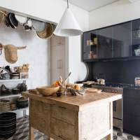 Dark Wall Kitchen | Kitchen Design Ideas
