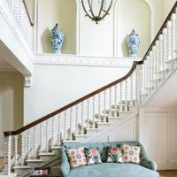 Staircase - Traditional Hampshire Country House