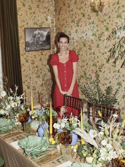 Laura Jackson in her east London home