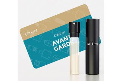 February 5: Sniph Box with Avant-Garde Fragrance and Gift Card, £36.00