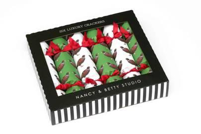 'Pheasant' Crackers from Nancy & Betty Studio