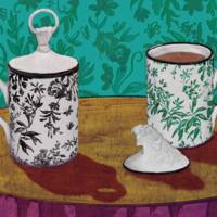 Still life images from Gucci's new home collection are by Alex Merry.