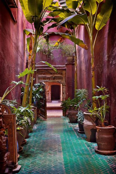 Tiled Passageway - Moroccan Tiling | Outdoor Spaces