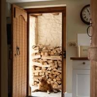 Log Storage - Prince Charles' Welsh Home