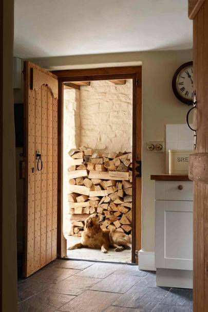 Log Storage - Prince Charles' Welsh Home