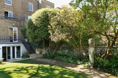 Notting Hill garden view